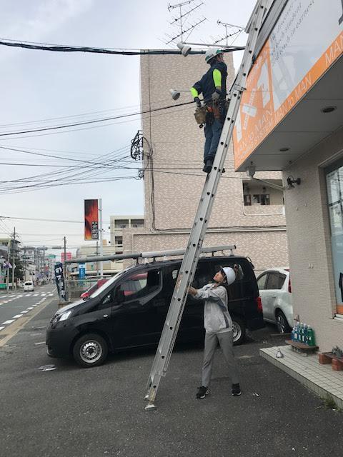 福岡 看板照明工事